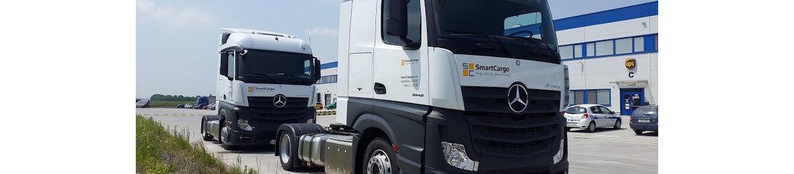 Zakoupeny dva nové vozy pro naší flotilu SmartCargo
